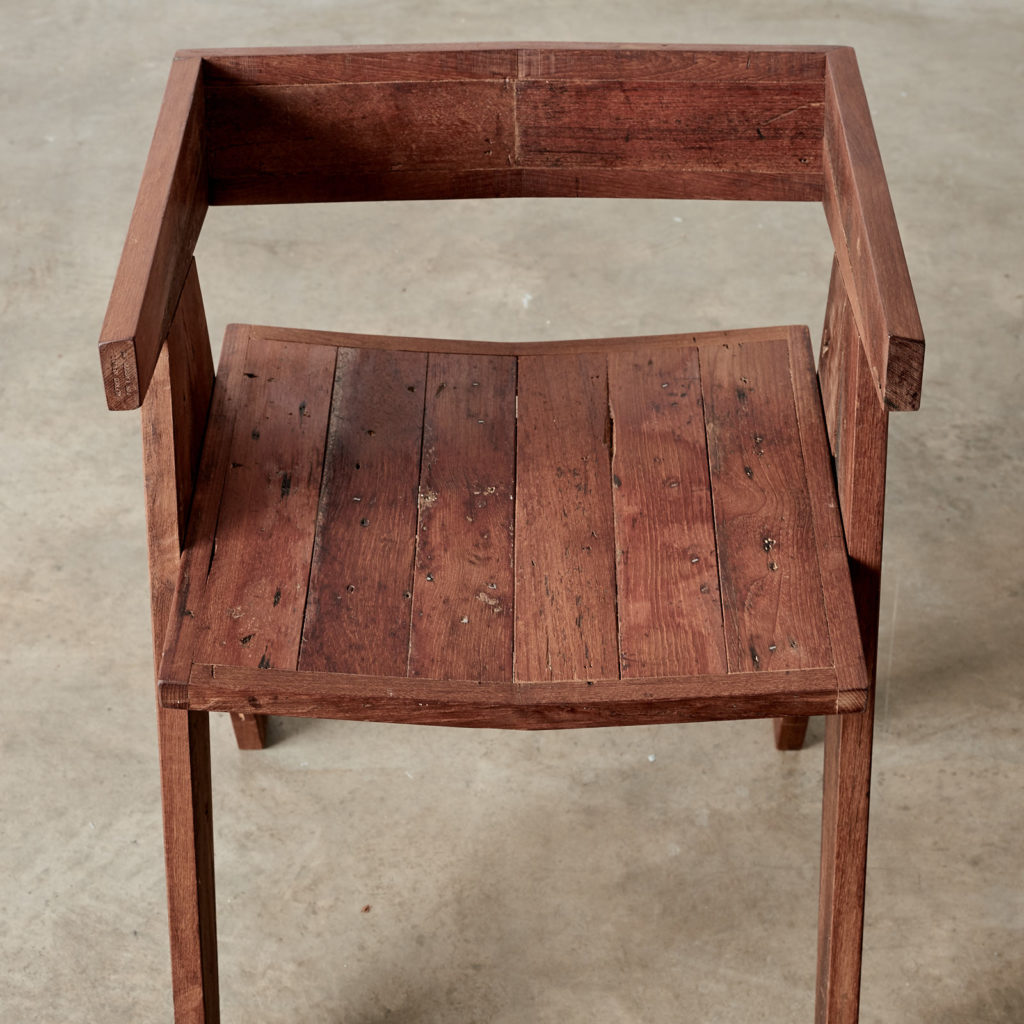 A 'GO' chair with reclaimed Burmese teak, -98754
