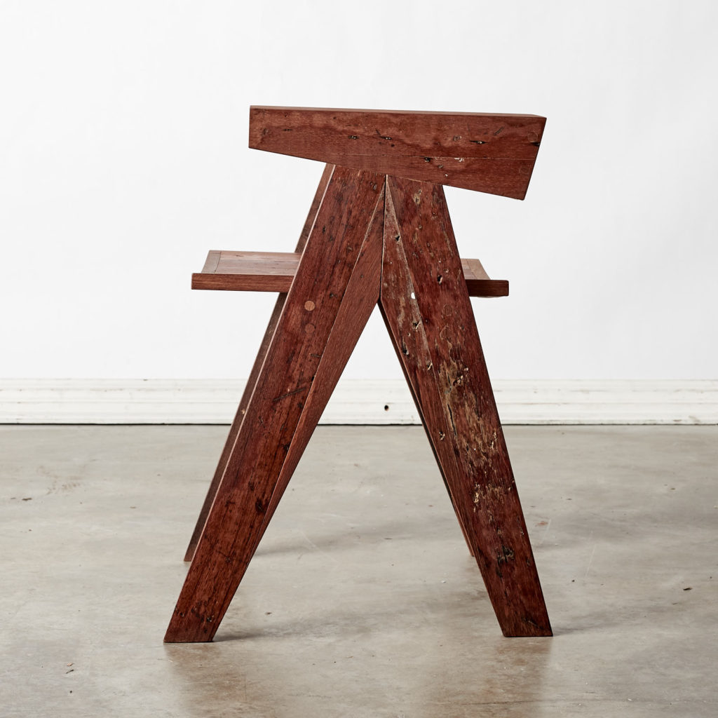 A 'GO' chair with reclaimed Burmese teak, -98756