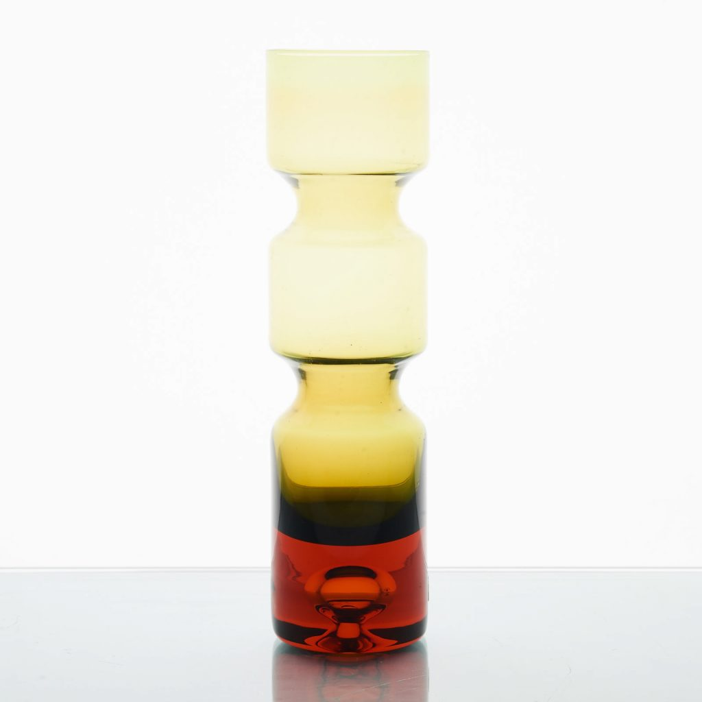 Vase by Bo Borgstrom, c1960 for the Aseda Works, Sweden.