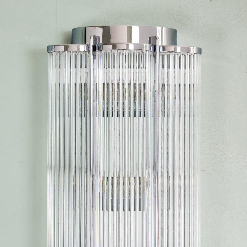 Pair of Art Deco style wall lights,-99283