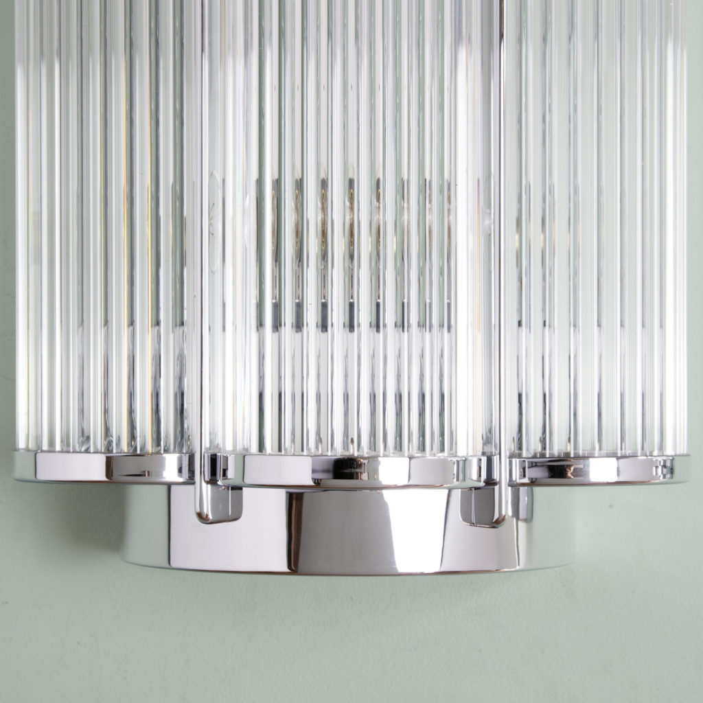 Pair of Art Deco style wall lights,-99284