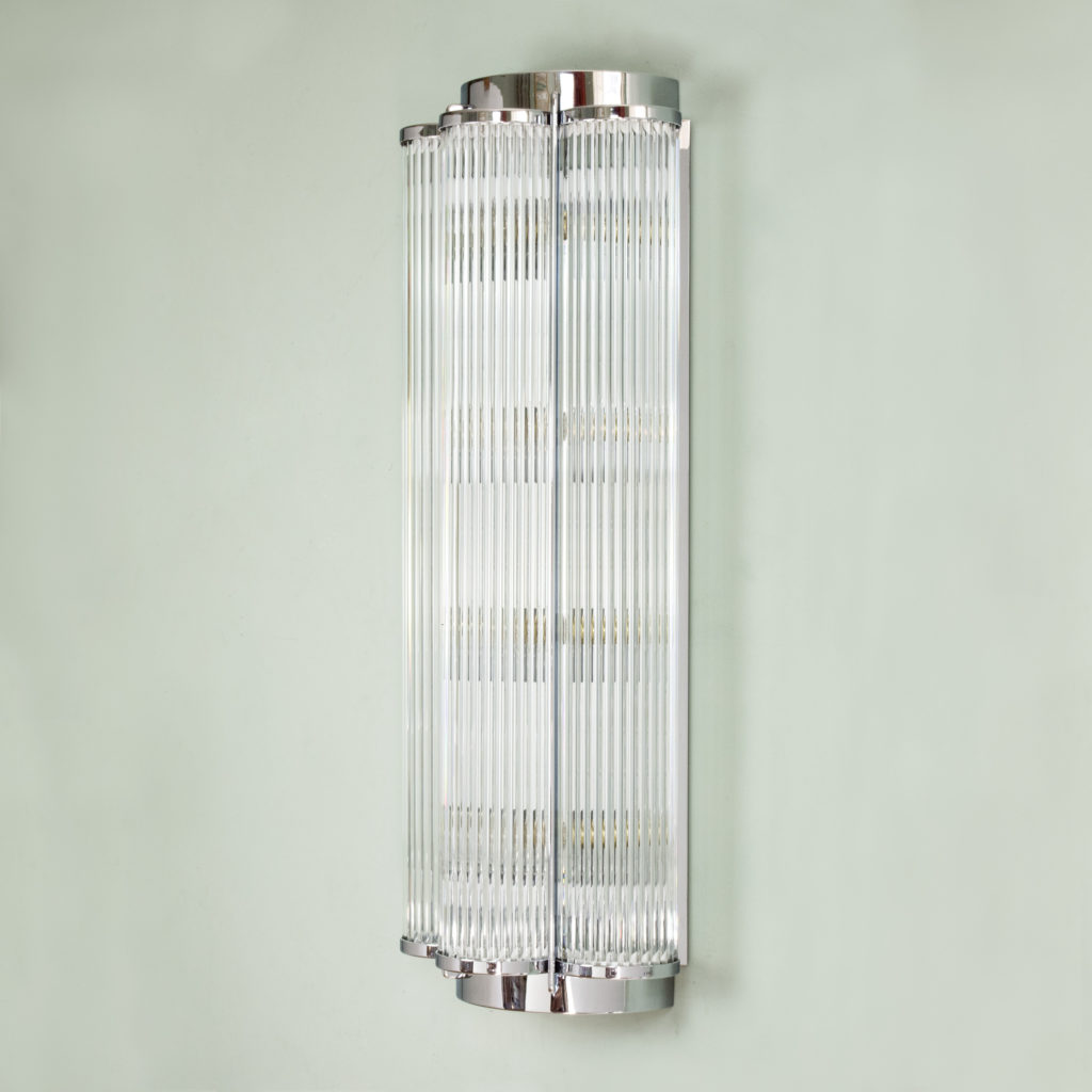 Pair of Art Deco style wall lights,-99281
