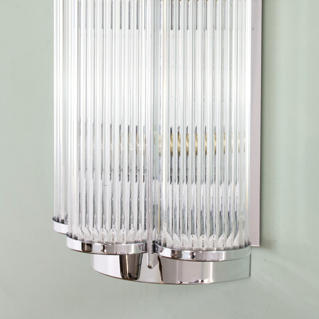 Pair of Art Deco style wall lights,-99280