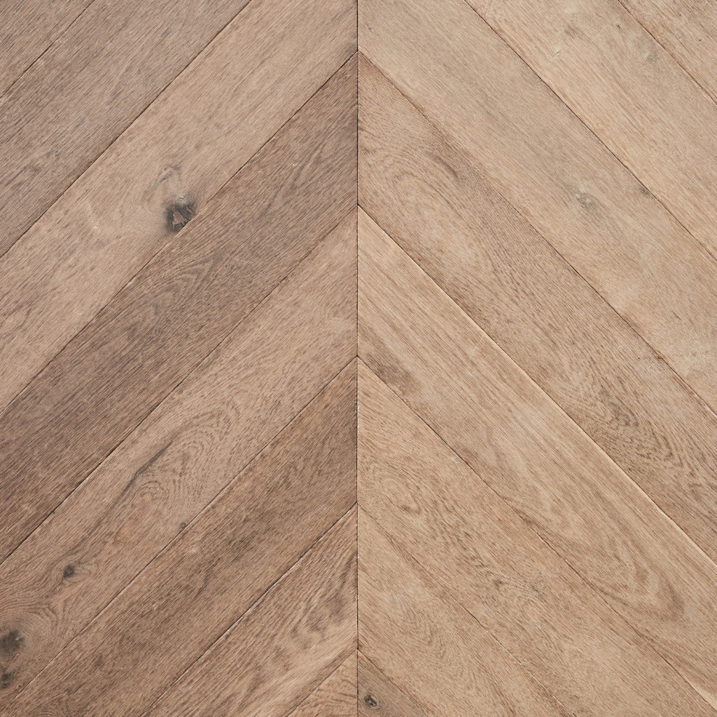 Cabin Oak Chevron - Grey Oiled-0