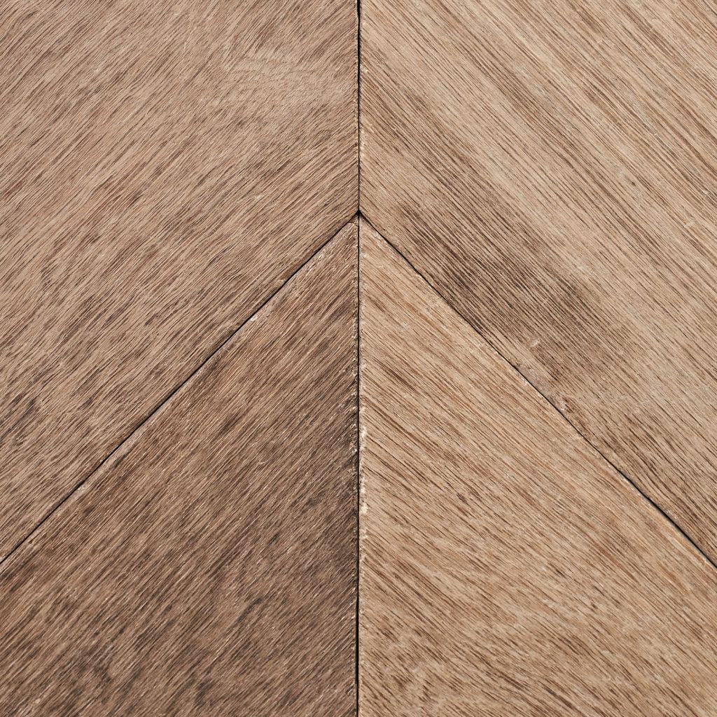 Cabin Oak Chevron - Grey Oiled-99588