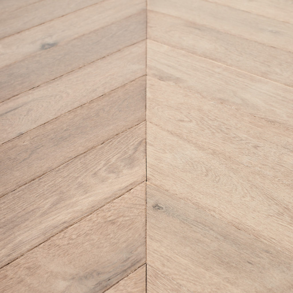 Cabin Oak Chevron - Grey Oiled-99593