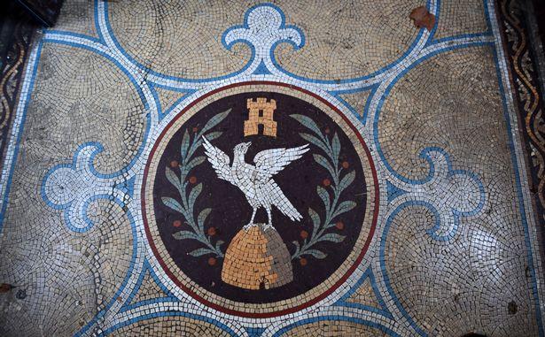 The Ogden crest
