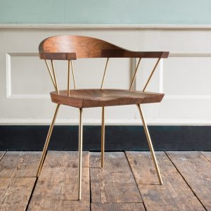 Bassam Fellows 'Spindle' chairs