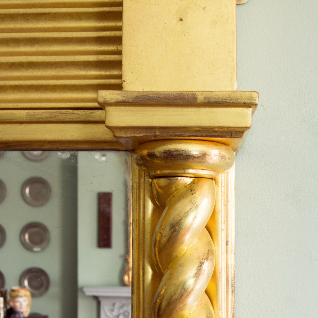 A large giltwood pier mirror, -99886