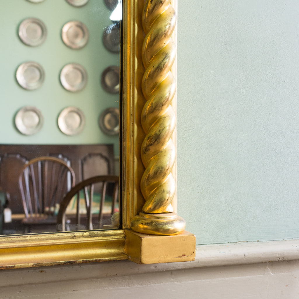 A large giltwood pier mirror, -99889