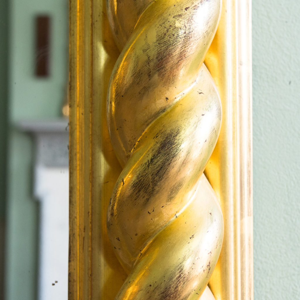 A large giltwood pier mirror, -99885