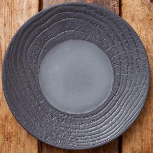 Revol Black Dinner Plate