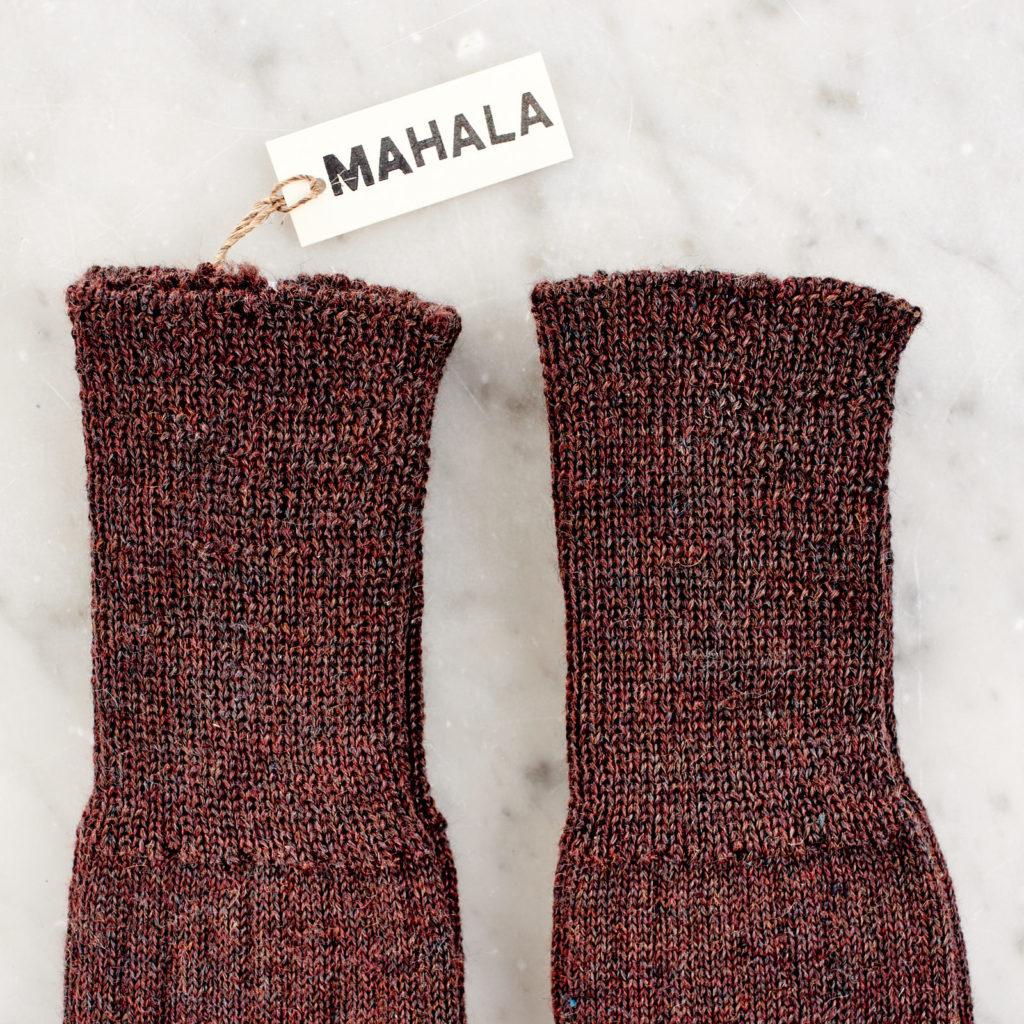 A pair of woollen socks,-101230