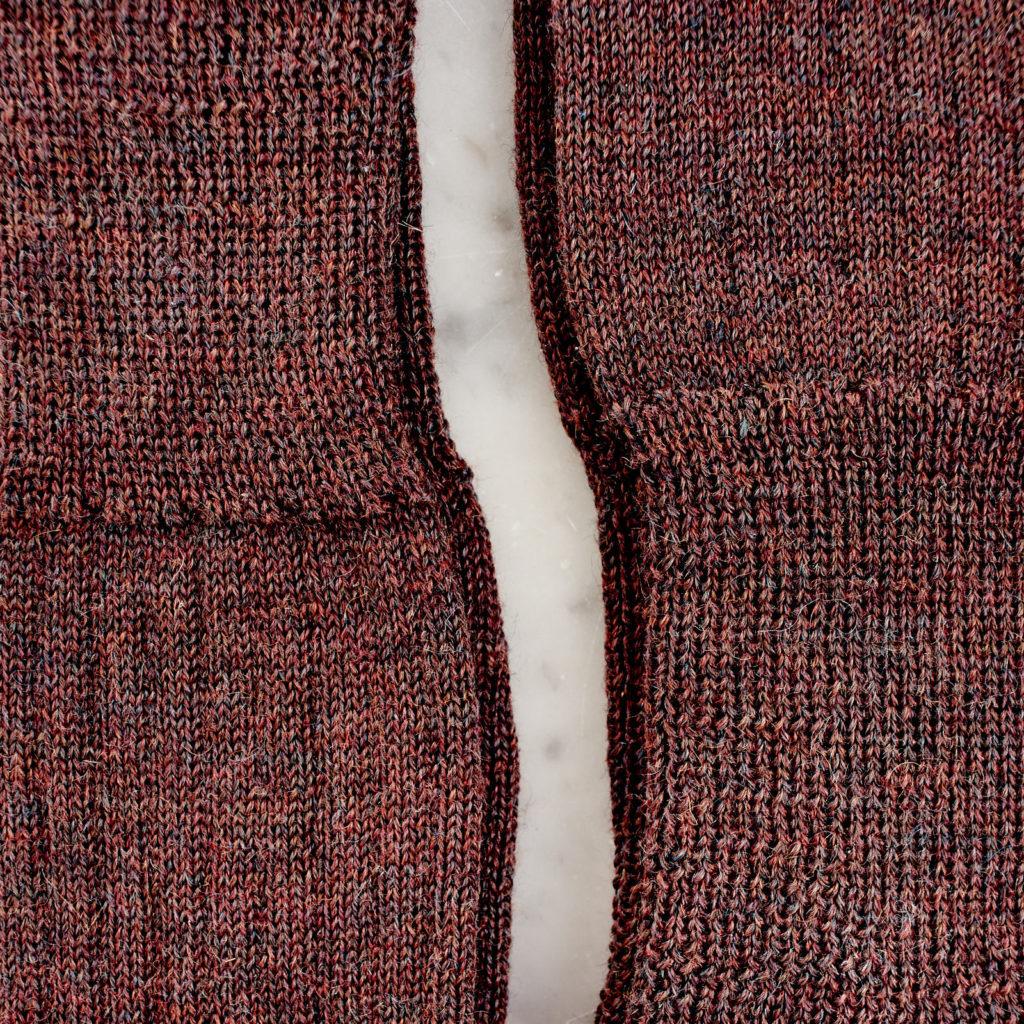 A pair of woollen socks,-101226