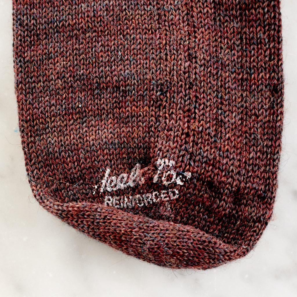A pair of woollen socks,-101225