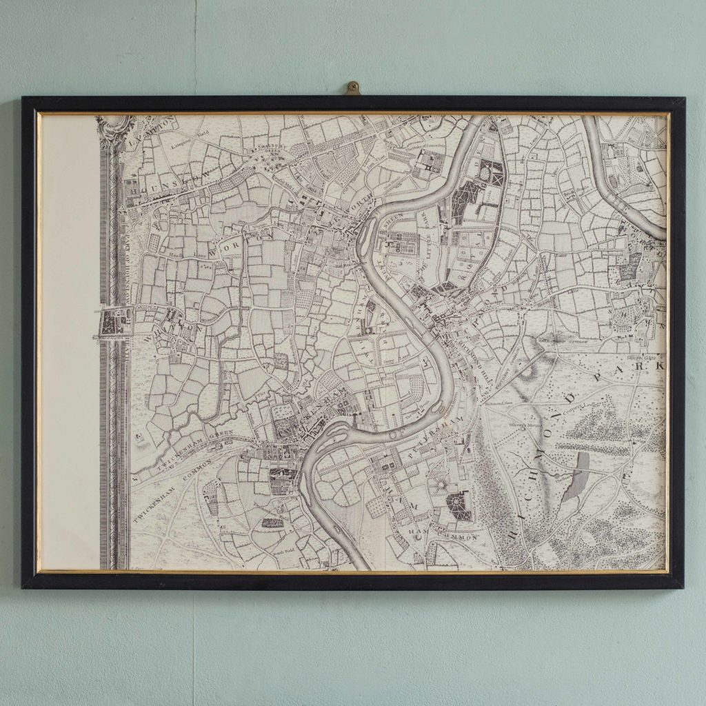 The environs of London in 1746. Impressive sixteen sheet set. -101991