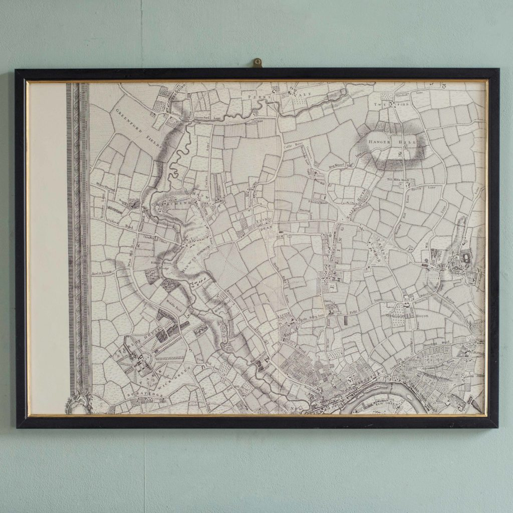 The environs of London in 1746. Impressive sixteen sheet set. -101992