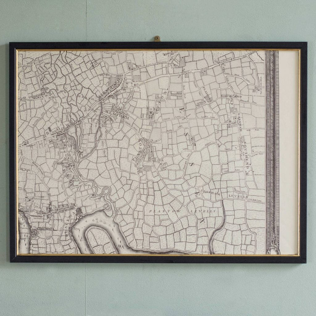 The environs of London in 1746. Impressive sixteen sheet set. -101994