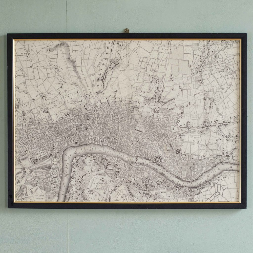 The environs of London in 1746. Impressive sixteen sheet set. -101982