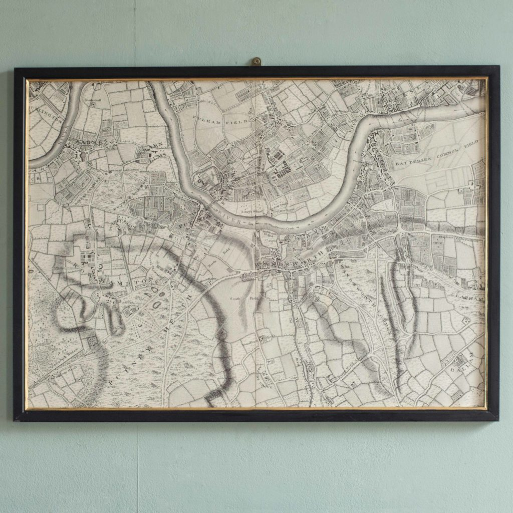 The environs of London in 1746. Impressive sixteen sheet set. -102003