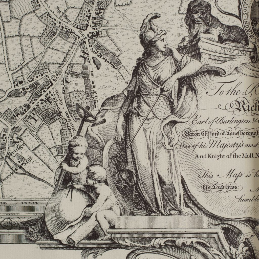 The environs of London in 1746. Impressive sixteen sheet set. -102002