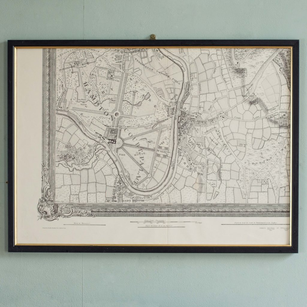 The environs of London in 1746. Impressive sixteen sheet set. -101999