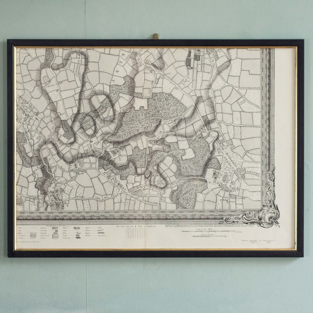 The environs of London in 1746. Impressive sixteen sheet set. -101983