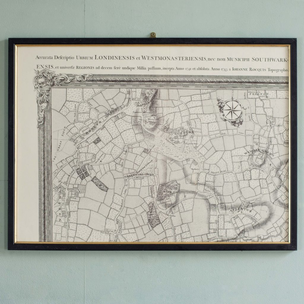 The environs of London in 1746. Impressive sixteen sheet set. -102001