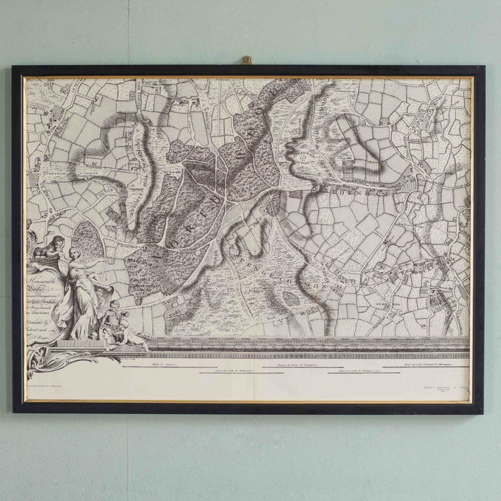 The environs of London in 1746. Impressive sixteen sheet set. -101990