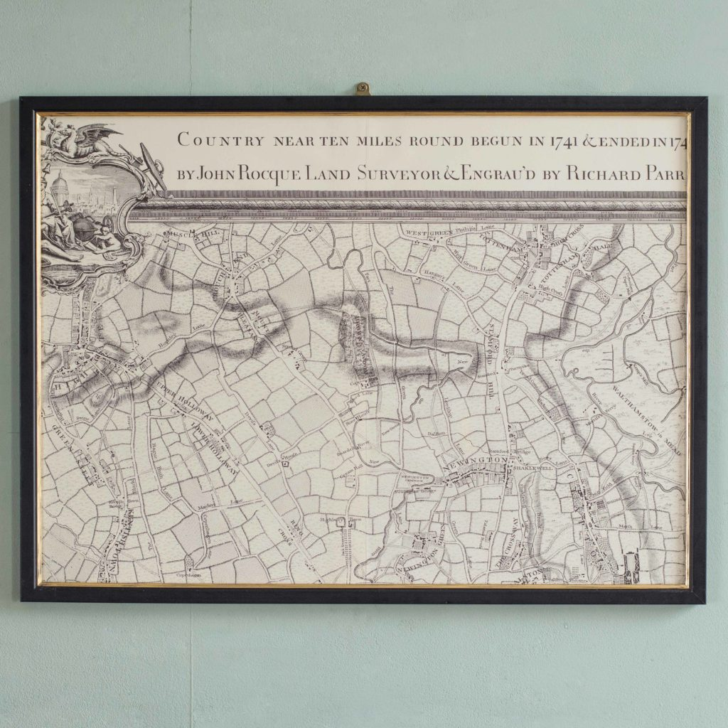 The environs of London in 1746. Impressive sixteen sheet set. -102004