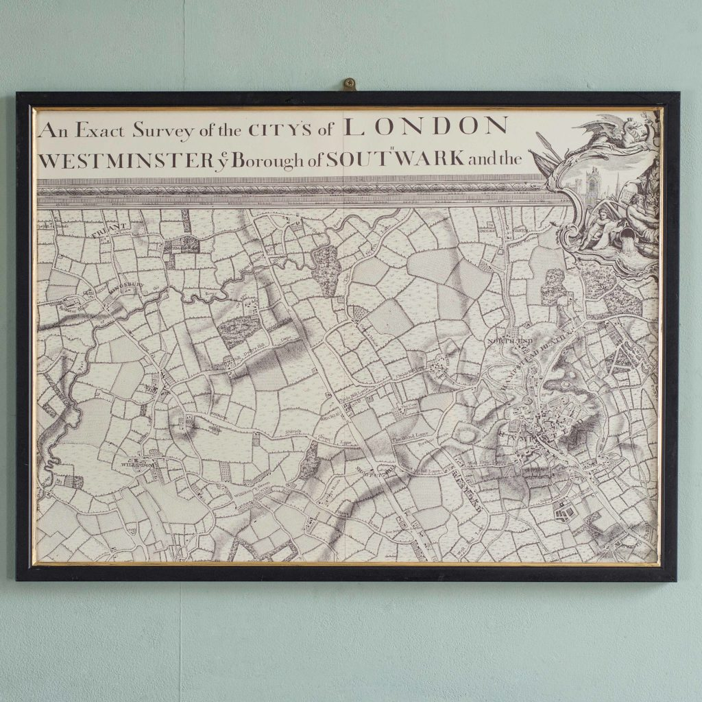 The environs of London in 1746. Impressive sixteen sheet set. -101996