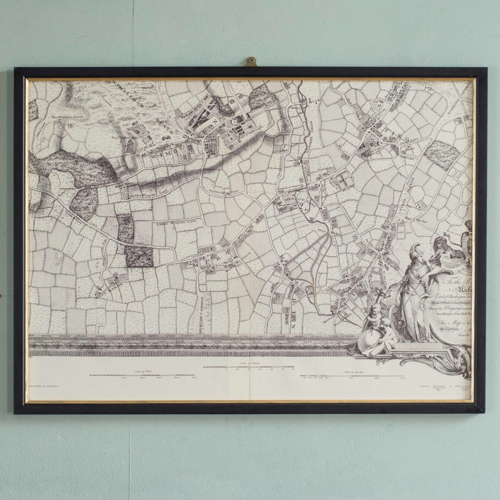 The environs of London in 1746. Impressive sixteen sheet set. -101988