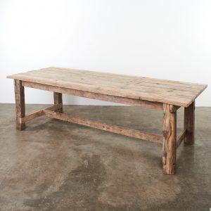31469 - Long Oak Dining Table_003