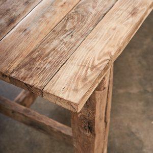 31469 - Long Oak Dining Table_009