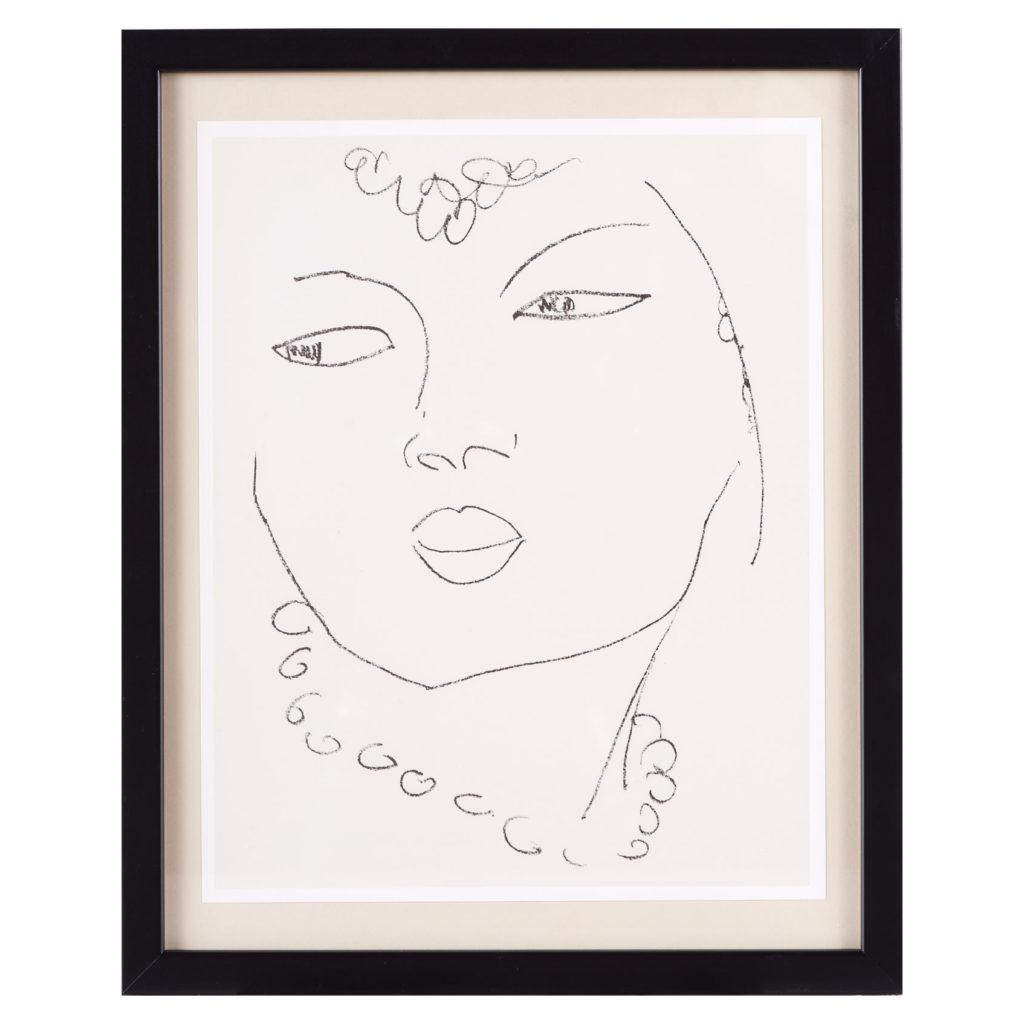 Matisse 'Les Fleurs Du Mal' lithograph,-0