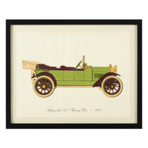 Original 'Gallery of the American Automobile' Screenprint,-0