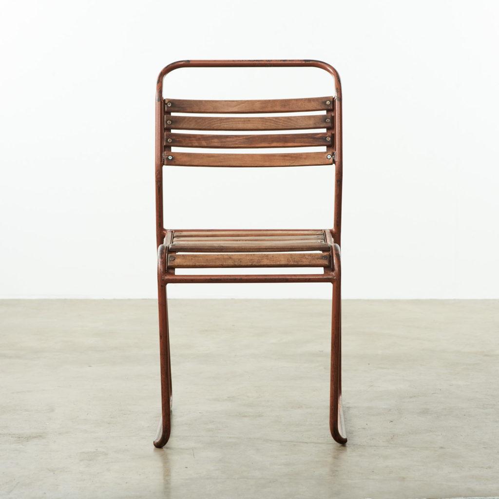 PEL tubular steel stacking chair,-102842