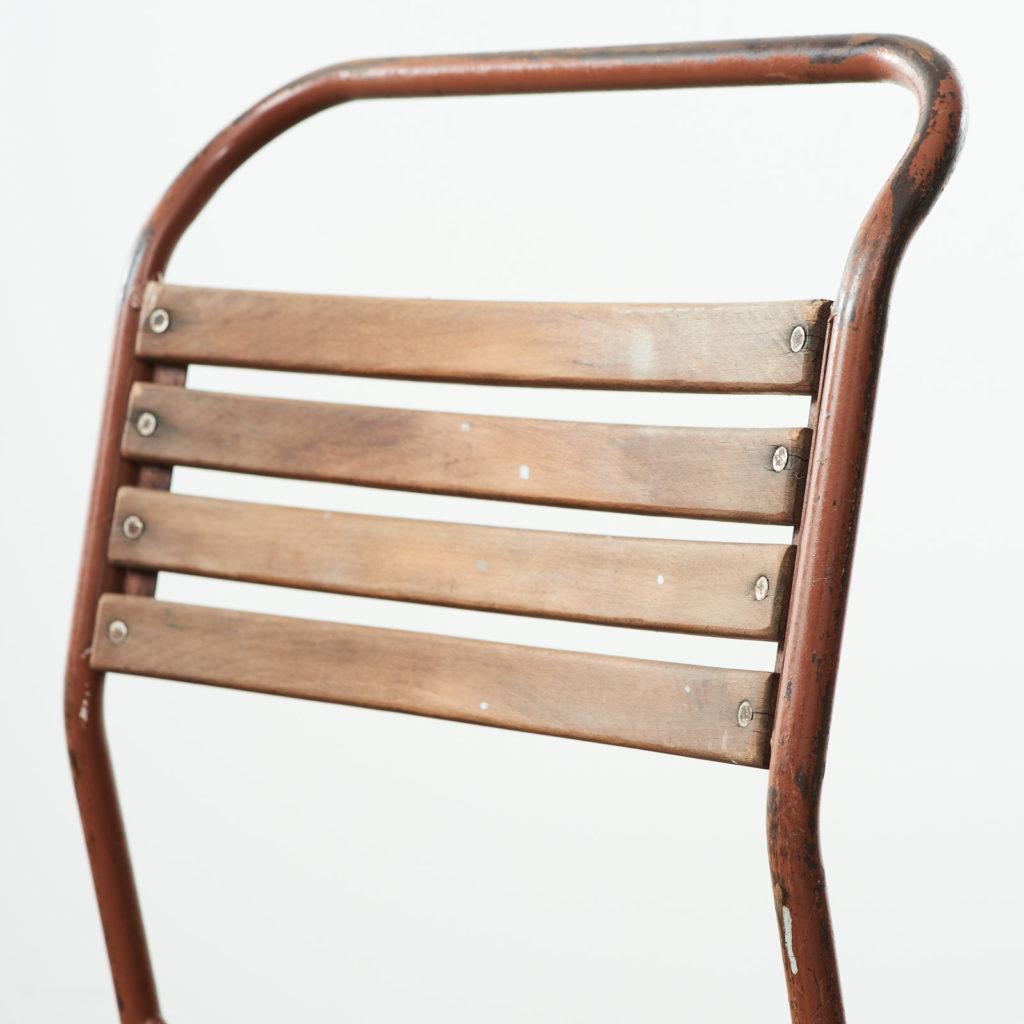 PEL tubular steel stacking chair,-102843