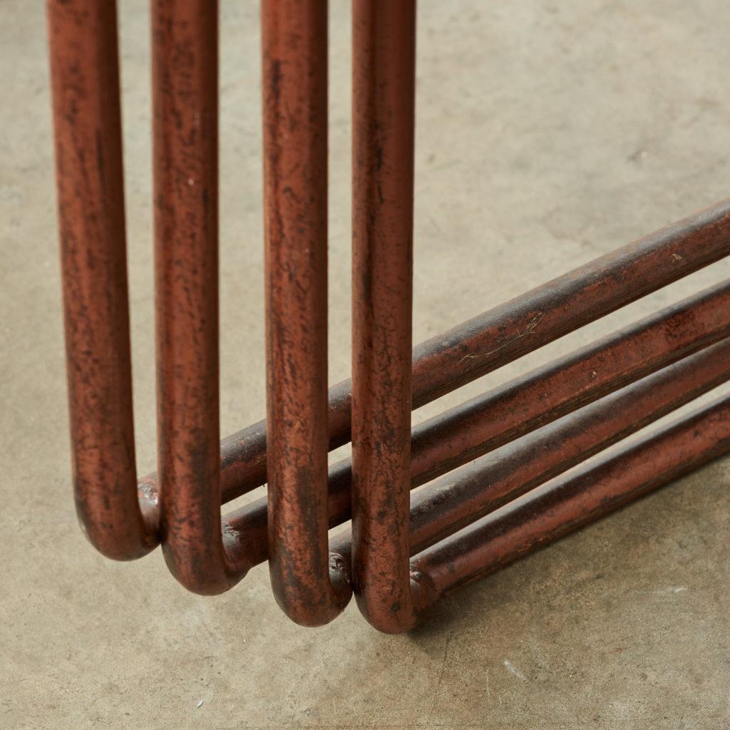 PEL tubular steel stacking chair,-102840