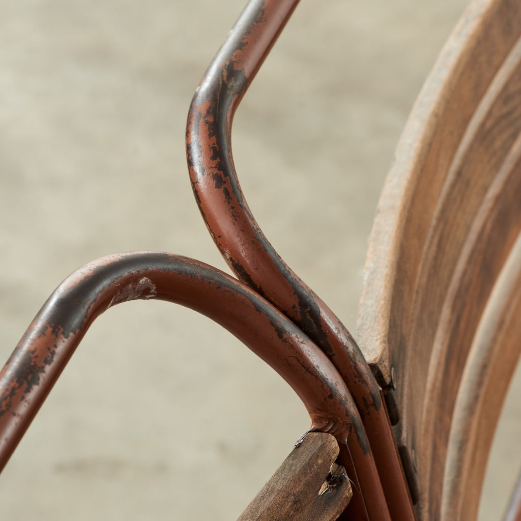 PEL tubular steel stacking chair,-102836