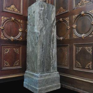 A Connemara marble pedestal-0