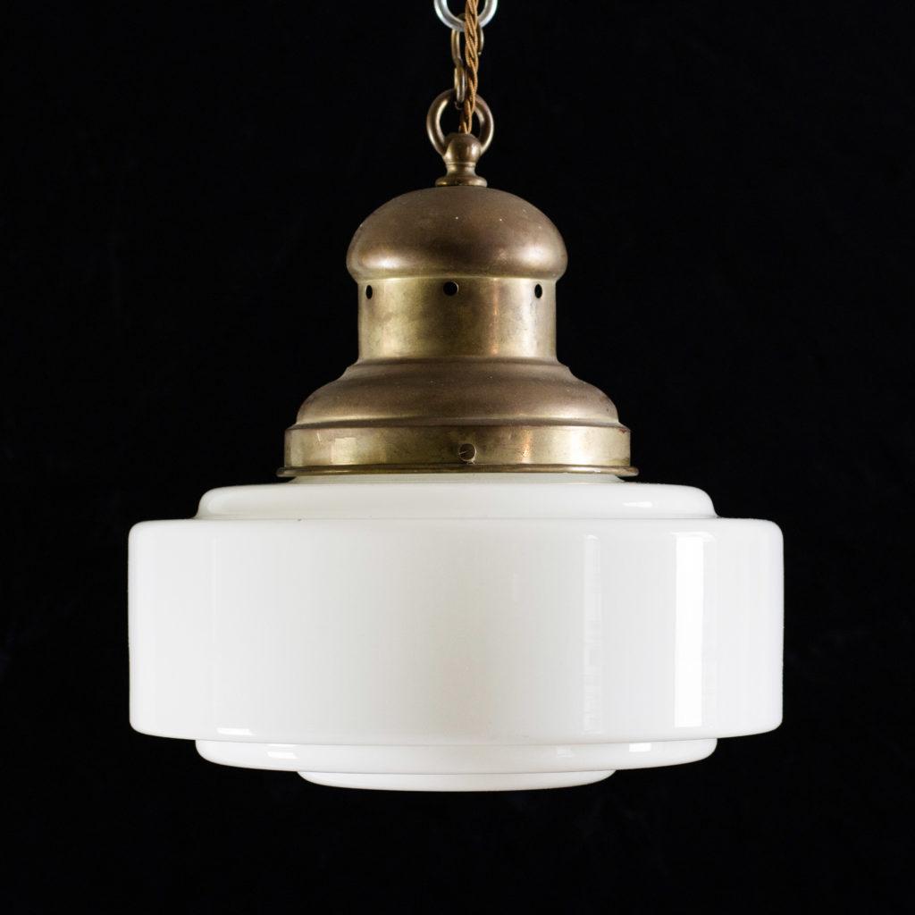 Opaline pendant light,-0