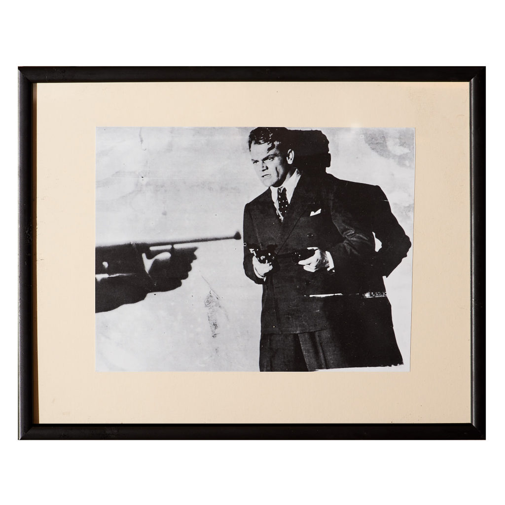 Framed Andy Warhol print,-0