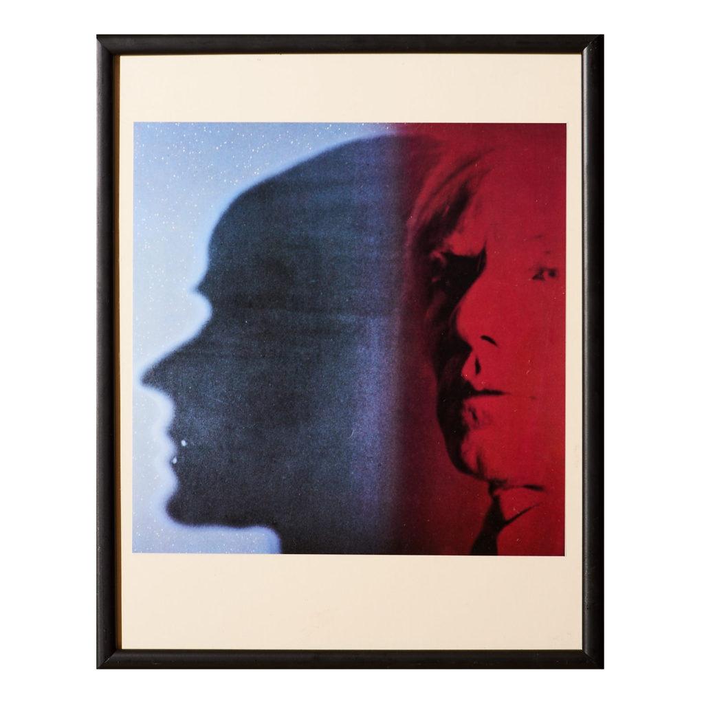 Framed Andy Warhol print,-0