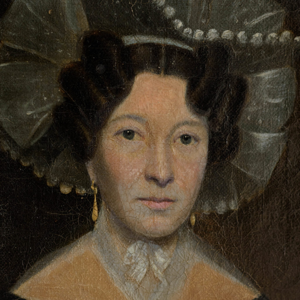Nineteenth century portrait of Mrs Taylor-102654