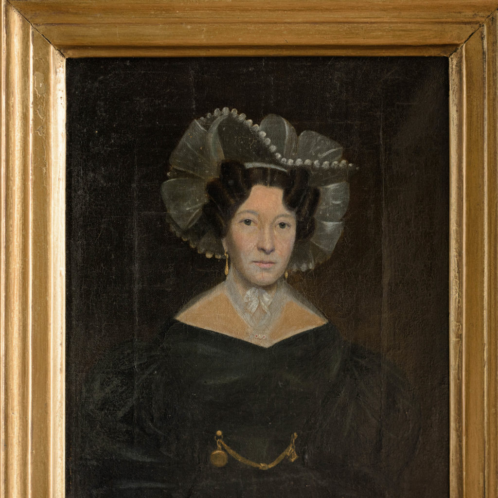 Nineteenth century portrait of Mrs Taylor-102658