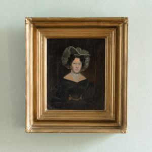 Nineteenth century portrait of Mrs Taylor-0