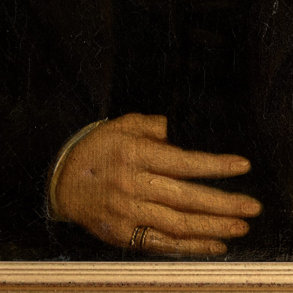 Portrait of a Gentleman wearing a ring,-102130