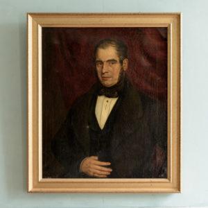 Portrait of a Gentleman wearing a ring,-0