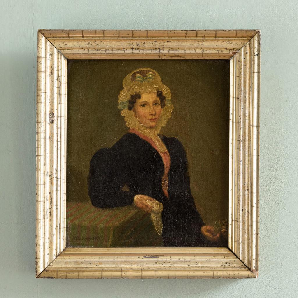 Pair of Belgian portraits,-102122